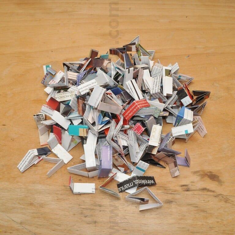 papirni segmenti za držač olovaka